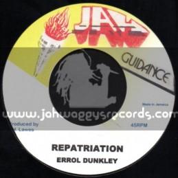 "Jah Guidance-7""-Repatriation / Errol Dunkley"