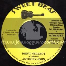 "Sweet Beat-7""-Dont Neglect / Anthony John"