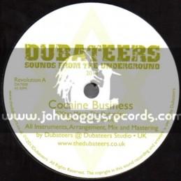 """Dubateers-7""""-Cocaine Business / S Kaya Meets The Dubateers"""