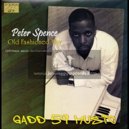 """Gadd 59-7""""-Old Fashioned Way / Peter Spence"""