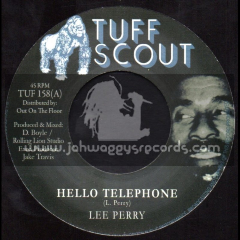"""Tuff Scout-7""""-Hello Telephone / Lee Perry"""