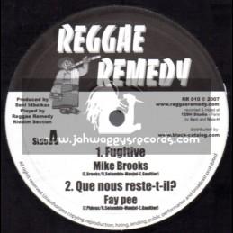 "Reggae Remedy-10""-Fugitive / Mike Brooks"