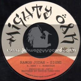 """Mighty Oak-7""""-Signs / Ramon Judah"""