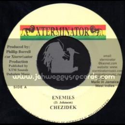 """X Terminator-7""""-Enemies / Chezidek"""