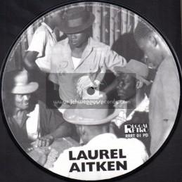 """Reggae Retro-7""""-If Its Money You Need + Baba Kill Me Goat / Laurel Aitkin"""