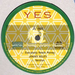 "Yes-10""-Everybody Needs Money + Reggae Music / Jimmy Riley"
