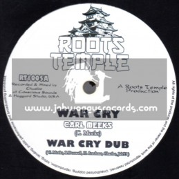 "Roots Temple-10""-War Cry / Carl Meeks + Star And Moon / Jah 93 Meets Chazbo"