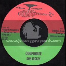 """Chopper Productions-7""""-Cooporate / Don Hickey"""