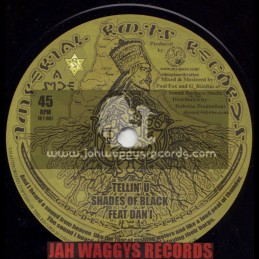 "IMPERIAL ROOTS RECORDS-7""-TELLIN U / SHADES OF BLACK FEAT DAN I"