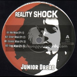 "Reality Shock Records-10""-No War / Junior Dread"