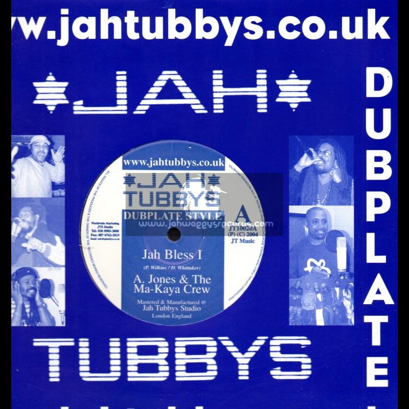 """Jah Tubbys-10""""-Jah Bless I / A. Jones & The Ma-Kaya Crew + Iron Dub / The Ma-Kaya Crew"""