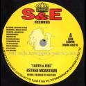 """S & E Records-7""""-Earth & Fire / Esther McArthur"""