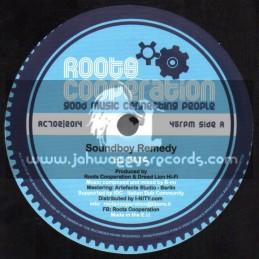 """Roots Cooperation-7""""-Soundboy Remedy / El Fata"""