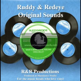 "Ruddy & Redeye-7""-What A Wonderful Feeling / Errol Bellot"