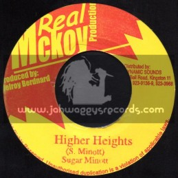 "Real Mckoy Production-7""-Higher Heights / Sugar Minott"