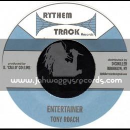 "Rythem Track Records-7""-Entertainer / Tony Roach"