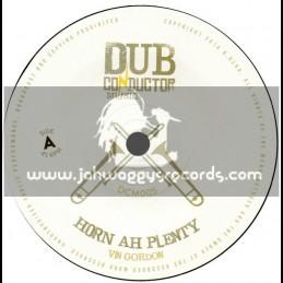 "Dub Conductor Music-7""-Horn Ah Plenty / Vin Gordon Meets Dubconductor"