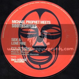 "Red Earth Records-7""-Love Fire / Michael Prophet Meets Soothsayers"