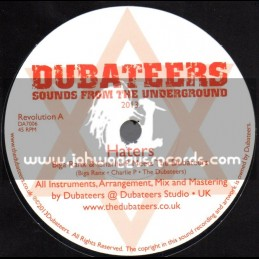"Dubateers-7""-Haters + Greener / Biga Ranx & Charlie P Meets The Dubateers"