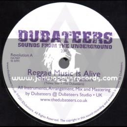 """Dubateers-7""""-Reggae Music / Tenna Star Meets The Dubateer"""