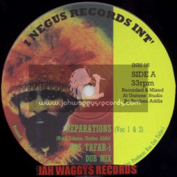 "I NEGUS RECORDS INT-10""-REPARATION + WEH DEM AH GO DO / COS TAFAR-I"