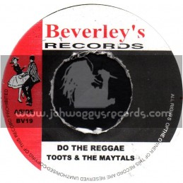 """Beverleys Records-7""""-Do The Reggae / Toots & The Mayals + Be Yours / Beverley All Stars"""