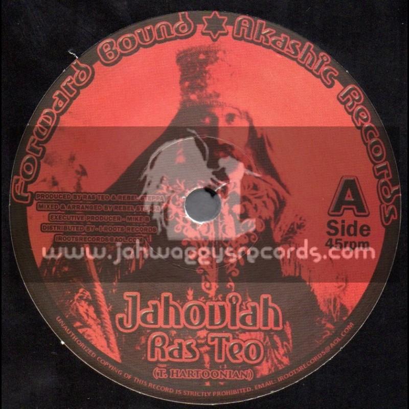 "Forward Bound Akashic Records-7""-Jahoviah / Ras Teo"