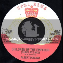 "Uprising-7""-Children Of The Emperor / Albert Malawi - Dubplate Mix"