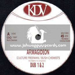 "KDV-12""-Armagideon / Culture Freeman + Lightning Skank / Bush Chemists"