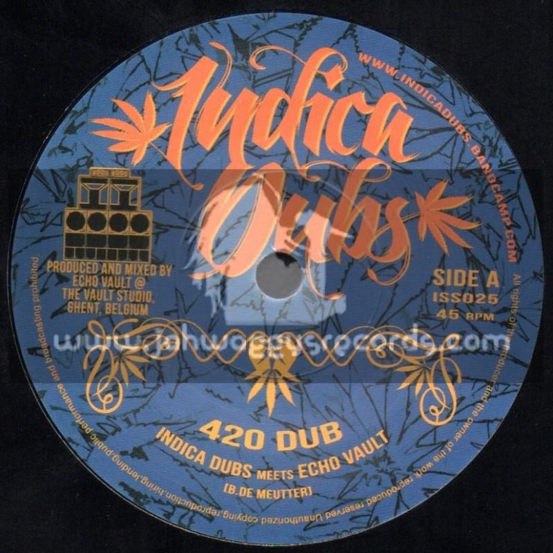 """Indica Dubs-7""""-420 Dub + 710 Dub / Indica Dubs Meets Echo Vault"""