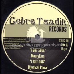 "Gebre Tsadik Records-Test Press-12""-I Got Soul / Maury Lion + Rise Up / Daman"