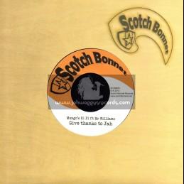 "Scotch Bonnet-7""-Give Thanks To Jah / Mungos Hi Fi Feat. Mr Williams"