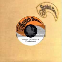 "Scotch Bonnet-7""-Freedom Come / Mungos Hi Fi Feat. Blackout JA"