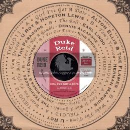 "Duke Reid-7""-Girl I Got A Date / Alton Ellis + Wake The Town / U Roy"