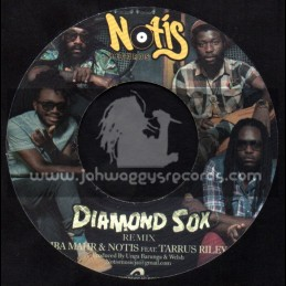 "Notis Records-7""-Diamond Sox / Notis & Iba Mahr Feat. Taurus Riley Remix"
