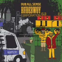 "Lions Den-12""-Rudebwoy Corporation Ep-Dub All Sense Feat. Mr Williams, Mr Dill, Lion Warriah & Longfingah"