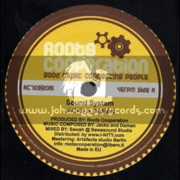 """Roots Cooperation-7""""-Sound System / Jacko And Daman"""