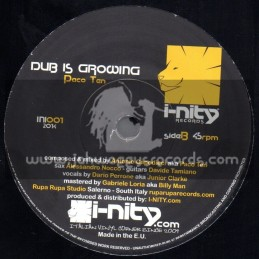 """I-Nity Records-7""""-Age Is Growing / Junior Clarke"""