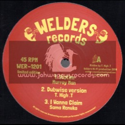 """Welders Records-12""""-Victim / Murray Man + Stand Up / King General"""