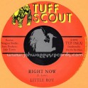"Tuff Scout-7""-Right Now / Little Roy"