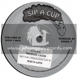 Sip A Cup Records-7-Kuff N Dem / Micky General