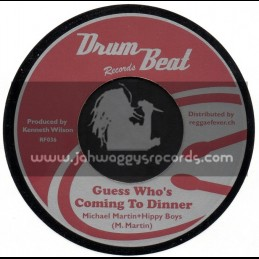 """Drum Beat-7""""-Guess Whos Comming To Dinner / Hippy Boys + Betrayal / Clarendonians"""