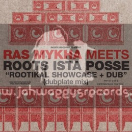 Patate Records-Lp-Ras Mykha Meets Roots Ista Posse - Rootikal Showcase And Dub - Dubplate Mix