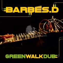 Patate Records-Lp-Green Walk Dub / Barbes.D - Various Artists
