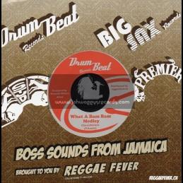 """Drum Beat-7""""-What A Bam Bam Medley + Big Bam Bam / Prince Williams"""