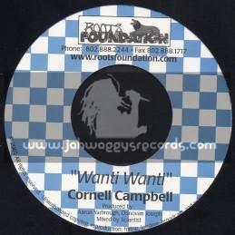 "Roots Foundation-7""-Wanti Wanti / Cornell Cambell"