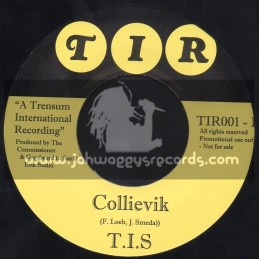 "T I R - 7"" - Collievik + Reggae Makossa / Trensum International Recordings"