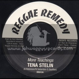 "Reggae Remedy-7""-More Teachings / Tena Stelin"