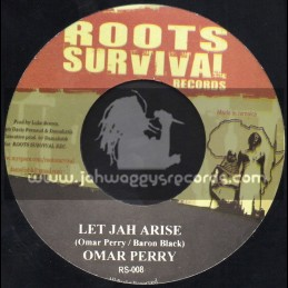 "Roots Survival Records-7""-Let Jah Arise / Omar Perry + Nothing / Poly Famous & Jaggy G"