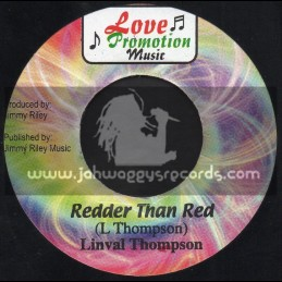 "Love Promotion Music-7""-Redder Than Red / Linval Thompson"